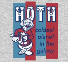 HOTH: COLDEST IN THE GALAXY One Piece - Short Sleeve
