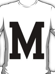 Letterman M T-Shirt