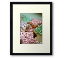 Yummy for the Tummy Framed Print