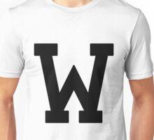 Letterman W Unisex T-Shirt