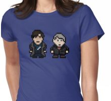 8 Bit Sherlock Womens Fitted T-Shirt