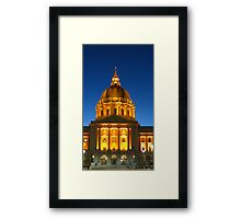 San Francisco City Hall Framed Print