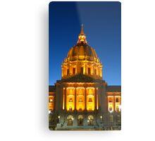 San Francisco City Hall Metal Print