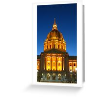 San Francisco City Hall Greeting Card