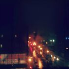 rainy night through my window by ShellyKay