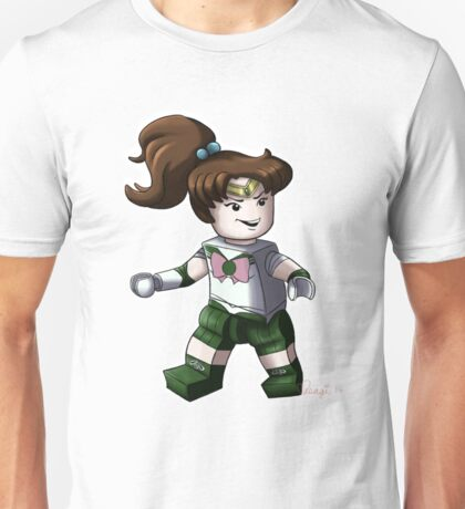 Legolized Sailor Jupiter Unisex T-Shirt