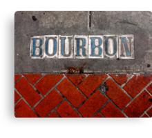 Bourbon Street Canvas Print