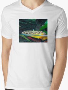 Butterfly eyes and dots Mens V-Neck T-Shirt