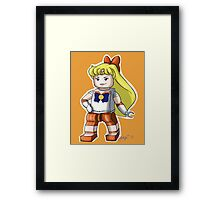 Legolized Sailor Venus Framed Print