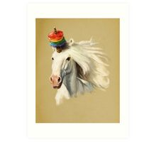 Rescue Unicorn Art Print