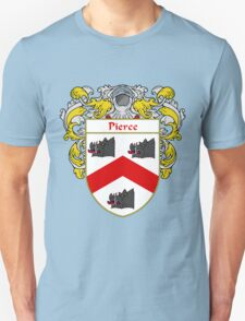 Pierce Coat of Arms / Pierce Family Crest T-Shirt