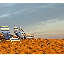 Golden Sands Photographic Print