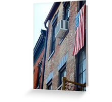 The Patriot.  Greeting Card