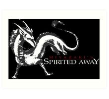 spirited away haku dragon Art Print