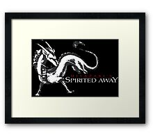 spirited away haku dragon Framed Print