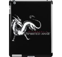 spirited away haku dragon iPad Case/Skin