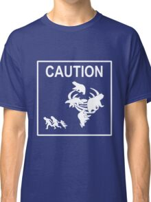 Polar Vortex Caution White Classic T-Shirt