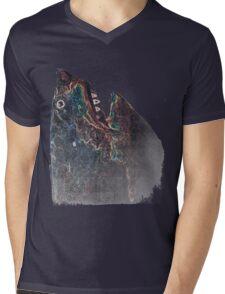 The Yarn Shark Mens V-Neck T-Shirt