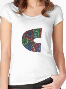 Sharpie art Women's Fitted Scoop T-Shirt