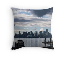 Vancouver BC Throw Pillow