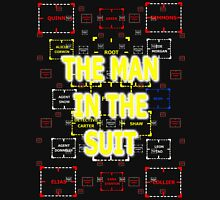 The Man in the Suit of Interest Unisex T-Shirt
