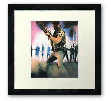 """Hasta La Vista 80""""s Framed Print"""