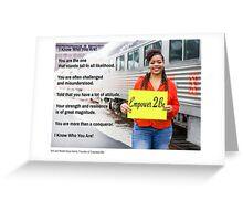 January - Inspired Love Greeting Card