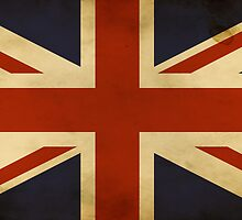 Retro Union Jack Flag by Speedy78