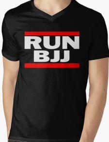 Run BJJ Mens V-Neck T-Shirt