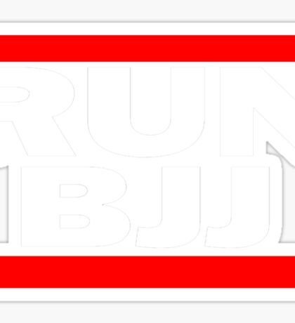 Run BJJ Sticker