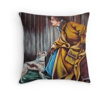 Yes, But Have You Been A Good Dog? Home At Last #2 Throw Pillow