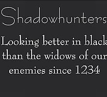 Shadowhunters by Asterous