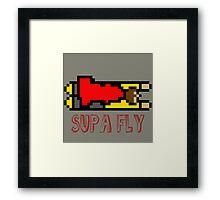 Supa Fly Framed Print