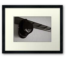 Military Cap Framed Print