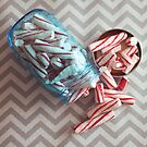 peppermint sticks by beverlylefevre