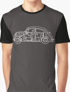 Volkswagen Blueprint - dark tee Graphic T-Shirt