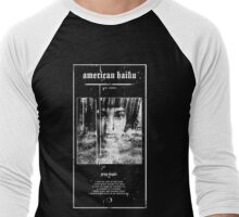 American Haiku Grey Magic  Men's Baseball ¾ T-Shirt
