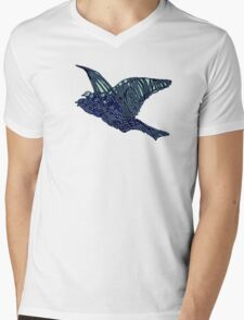 Flock of Blue Birds T-Shirt