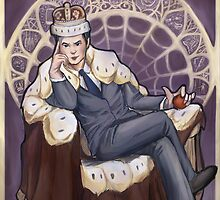 Villain Nouveau- Jim Moriarty by FlyingFoxWhale