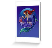 Mermaid in Reef Greeting Card