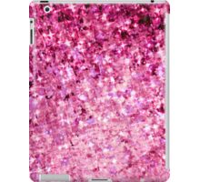 ROMANCE ME Lovely Romantic Pink Abstract Painting, Valentines Sunrise Ocean Waves Ombre Design iPad Case/Skin