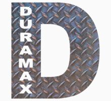 DURAMAX diamond plate D by thatstickerguy