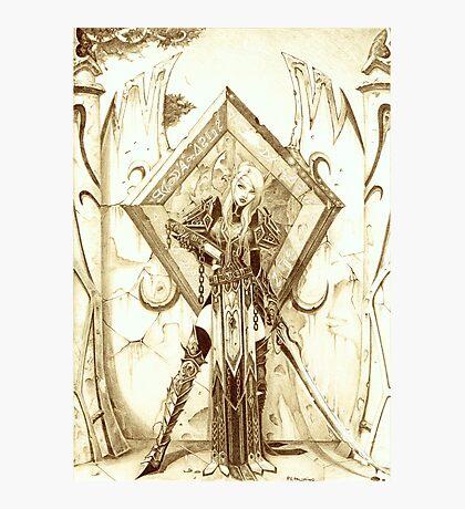Blood Elf Paladin Photographic Print