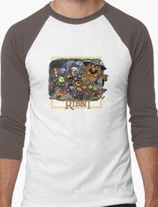The Ribbit Men's Baseball ¾ T-Shirt