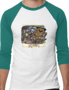 The Ribbit Men's Baseball ¾ T-Shirt