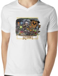 The Ribbit Mens V-Neck T-Shirt