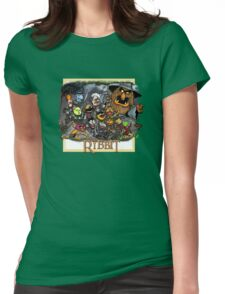 The Ribbit Womens Fitted T-Shirt