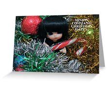 Minion Christmas 2011 Greeting Card
