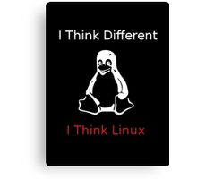 I think Linux Canvas Print