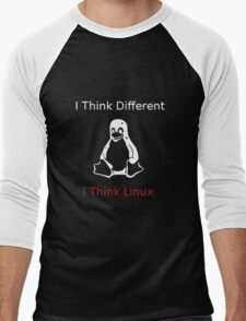 I think Linux Men's Baseball ¾ T-Shirt